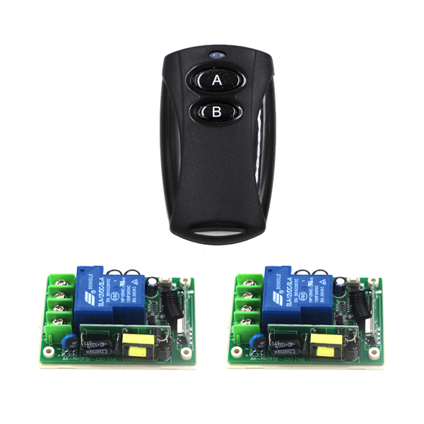 AC 85V-250V 110V 30A learning code wireless remote control switch 1 Controller+2 Receiver 3 working modes SKU: 5491<br><br>Aliexpress