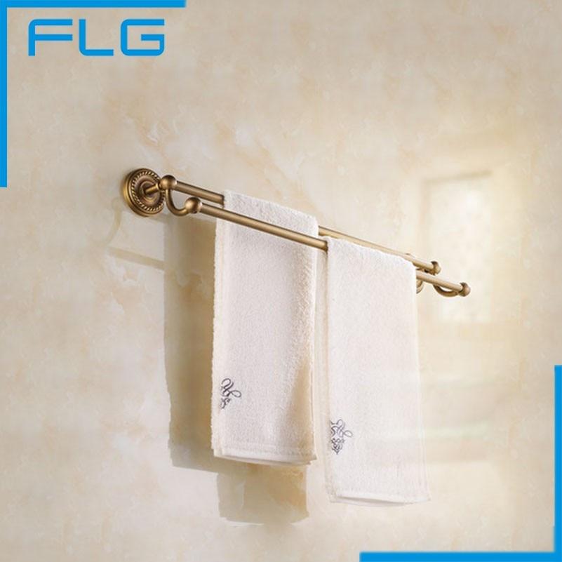 Wall Mounted Antique Brass Finish Bathroom Accessories Towel Bar,Towel Rack<br><br>Aliexpress