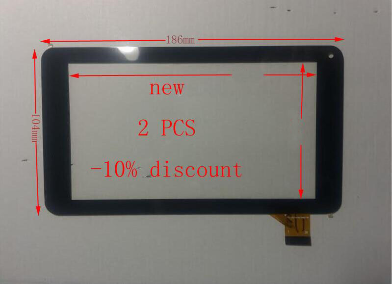 "New 7"" inch DEXP Ursus A270i JOY Tablet Capacitive Touch screen digitizer Touch panel Glass Sensor Replacement Free Shipping(China (Mainland))"