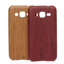 Wood Design Phone Case For Samsung Galaxy J7 2015 Silicone Soft Imitation leather Bag Cover Mobile Phone Cases for Galaxy J700