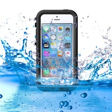 i5 i5s IP68 Slim Waterproof Case Dust Snow Drop Proof Cover for Apple iPhone SE 5s 5 iPhone5s Full Protection Mobile Phone Shell