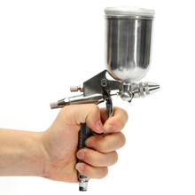 High Pressure Gravity Feed 0.5mm Pneumatic Spray Gun Auto Paint Air Spray 1 Combination Package k-3 Tools Set
