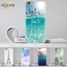 Buy KISSCASE iPhone 7 6 6s Plus Case 3D Printed Transparent Phone Case Samsung Galaxy S6 & S6 Edge Note 4 Back Cover Fundas for $2.79 in AliExpress store