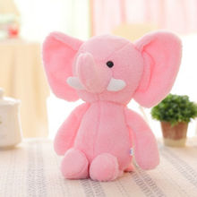 2017 Lovely Cute Soft Plush Elephant Toy Kids Baby Girls Stuffed Animal Doll Christmas Gift Stuffed & Plush Animals