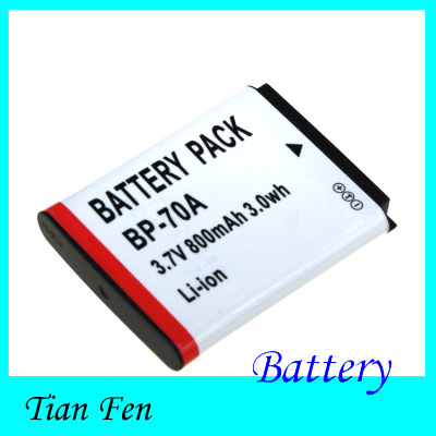Hot Sale 1pcs BP-70A BP 70A BP70A Rechargeable Camera Battery For Samsung PL80 ES70 SL50 SL600<br><br>Aliexpress