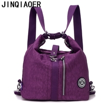 JINQIAOER Women Shoulder Bag Casual Nylon Female Handbag Shopping Messenger Bags Fashion Handbags Crosbody Bag Ladies Tote