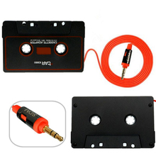 Marsnaska Car Cassette Tape Adapter Cassette Mp3 Player Converter For iPod For iPhone MP3 AUX Cable CD Player 3.5mm Jack Plug(China)