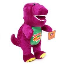 Purple Barney Plush Toy Dolls 40cm Singing Toys Valentine's Day Lovers Confession Gifts Barney Dinosaur Stuffed Toys