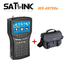 [Genuine] digital satellite finder meter satlink ws-6979se satellite signal search DVB S2/T2 HD Combo Spectrum 6979se DHL Free