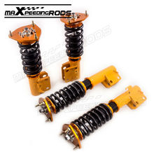 Racing Full Coilovers For Subaru Impreza WRX STi GC8 Sedan 2.0L Turbo Sedan Shock Absorber Strut Coilover Suspension Struts