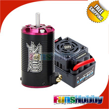 1:10 Short Course Combo Incl. Tenshock SC401V2 Electric Rc Cars Micro Brushless Motor&Hobbywing Waterproof WP-SC8 120A for Yeti