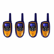 4pcs Mini Walkie Talkie Retevis RT31 8CH 0.5W UHF FRS/GMRS VOX LCD Display for Children Gift Toy Radio A9112L