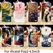 TAOYUNXI Silicone Phone Case For Alcatel OneTouch Pop 2 M5 5042 4.5 inch pop2 5042X 5042D 5042A Cases TPU Cover Skin Sheaths Bag(China)