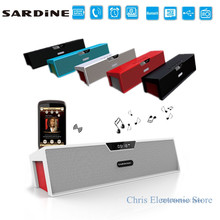 Original Sardine SDY-019 HIFI portable wireless bluetooth Speaker Stereo Soundbar TF FM radio 10W subwoofer column for computer