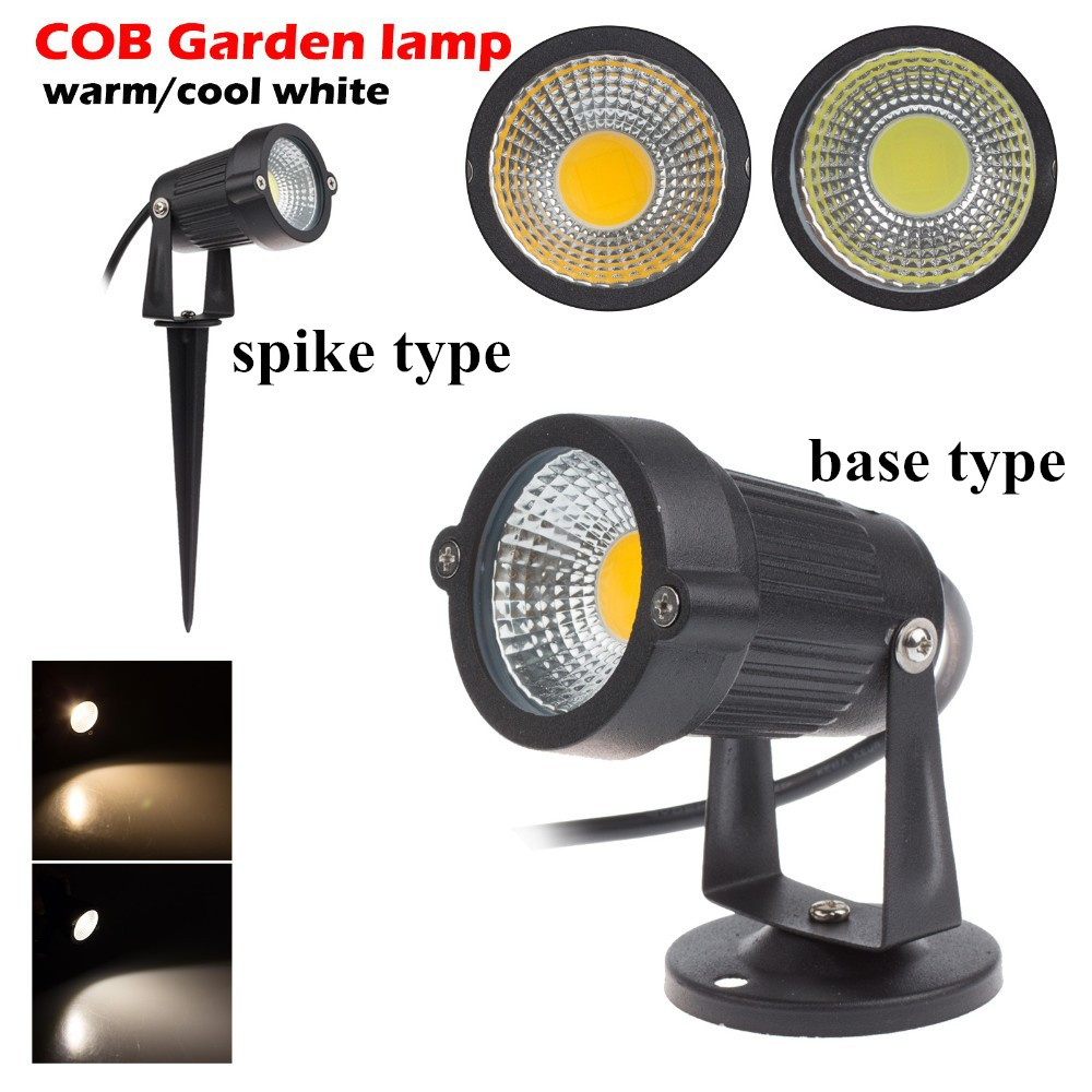 5W 7W 10W Outdoor Garden Light 12V 3W LED Lawn Lamp COB LED Spike Lamp Warm white IP65 Pond Path Landscape Spot Light Bulbs<br><br>Aliexpress