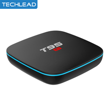 5pcs/lot New Android 7.1 TV Box RAM 1GB 8GB ROM HD WIFI Media Player 4K Amlogic S905W Quad Core Smart Set Top Box T95 R1 DHL(China)