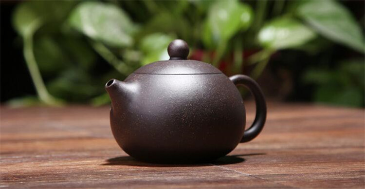170ML yixing tea pot purple clay xi shi zisha teapot ore beauty chinese kung fu kettle suit puer black tea with gift box 5