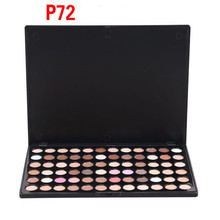 HOT 72 Colors Matte Shimmer Long-Lasting Waterproof Cheap Sexy Eyeshadow Palette Pigment Powder Woman Cosmetics(China)