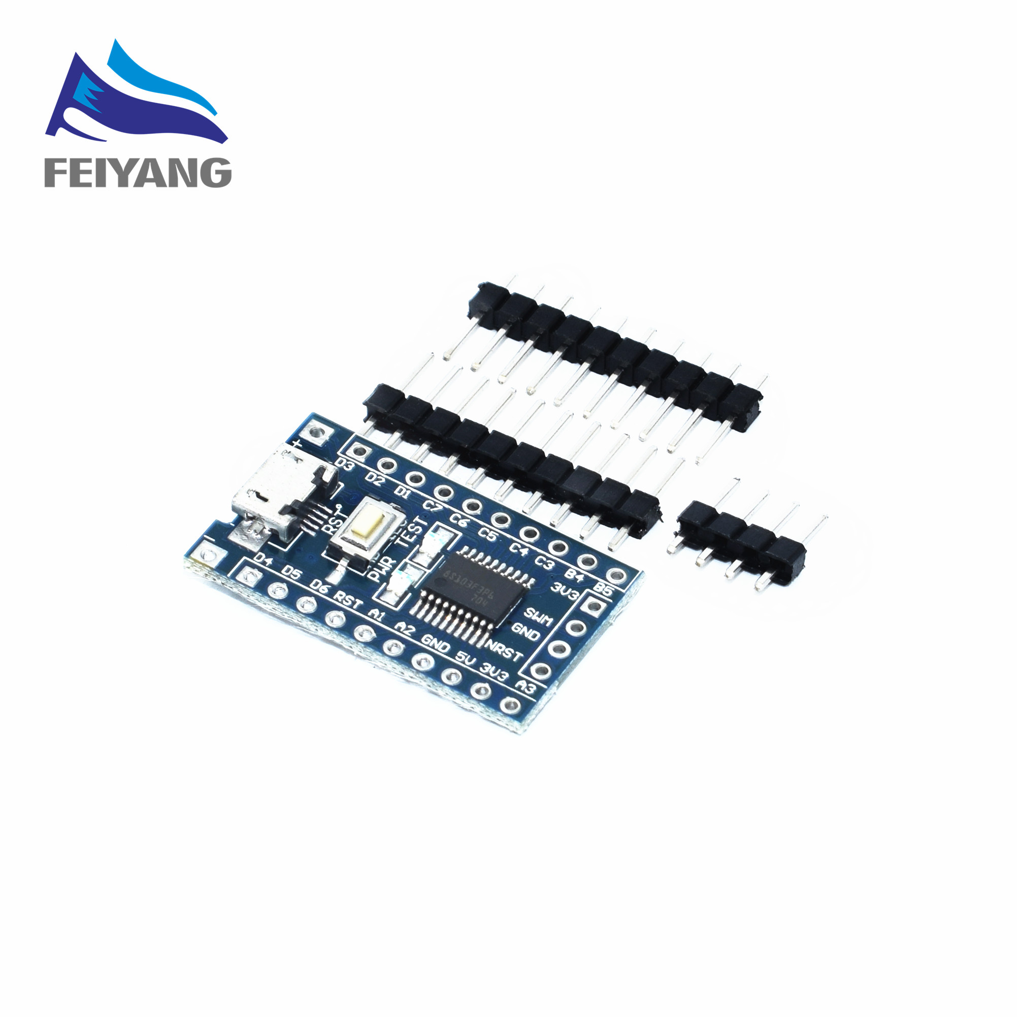 A35 10pcs SAMIORE ROBOT STM8S103F3P6 system board STM8S STM8 development board minimum core board 1