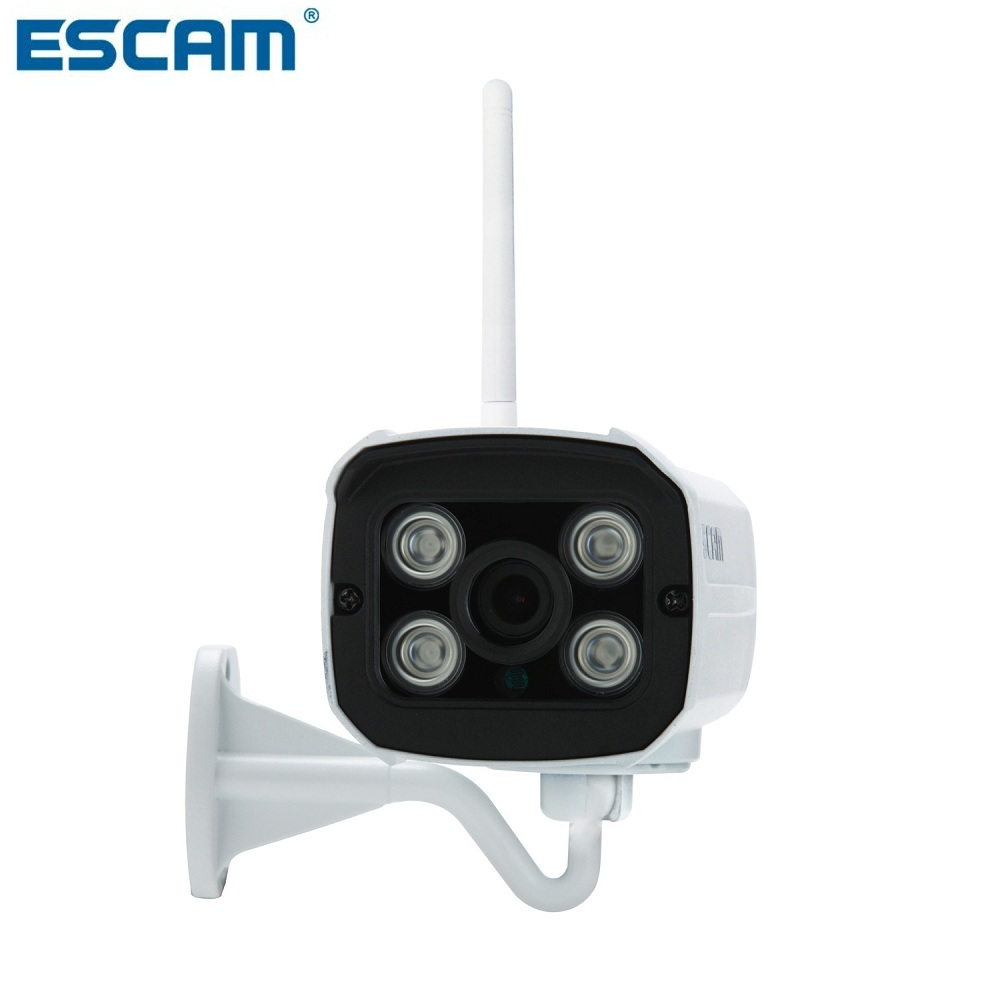 ESCAM QD900 WIFI 1080P 2.0 Megapixel HD Home Security Camera System Wireless Network IR Bullet Surveillance Outdoor Mini Camera(China)