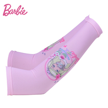 Barbie 2017 Kid's Ice Sleeves Women Long Sleeve Sunscreen Summer Hand Sleeve for Children Arm Sleeves
