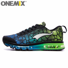 Original onemix Air Cushion Mens Running Shoes for Women New Female Walking Sneakers Jogging sports Men Racer Urh Trainers 36-47(China)