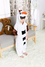 Kids Anime Olaf Onesie Princess White Snowman Princess Cosplay Pajamas Halloween Party Costumes Jumpsuits Costumes