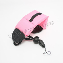 freeshipping pink Floating Foam Hand Strap for Nikon Canon Fujifilm Sony Olympus Pentax Waterproof DSLR Camera(China)