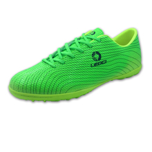 2016 Hot Soccer Shoes Children Big Size 11 Football Shoes For Men Blue/Green Mens Football Trainers Leather Girls Footy Boots