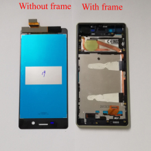 Buy Sony Xperia X Performance F5121 F5122 Touch Screen Digitizer Sensor Panel Glass + LCD Display Monitor Module Assembly Frame for $19.01 in AliExpress store