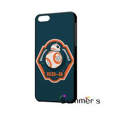 back shell skins cellphone case cover for iphone 4 4s 5 5s 5c SE 6 6s 7 plus ipod touch 4/5/6 Star Wars BB8 Droid Robot