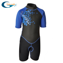 YonSub surf suit warm cold winter swimming snorkeling diving suit short-sleeved 2.5mm children wetsuit(China)