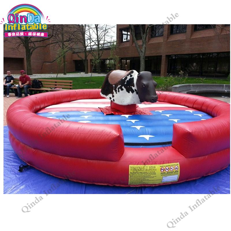 inflatable mechnical bull mat18