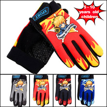 Kids Non-Slip Cycling Gloves Autumn Winter Sports Wear Bike Bicycle Riding Gloves Full Finger Children Boys Girls Ciclismo Gants