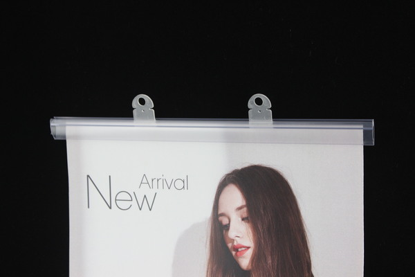Snap plastic frames for large posters