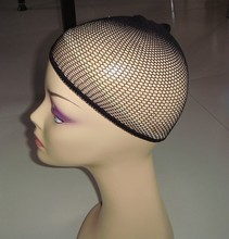 30 pcs/Lot NEW Fashion  Weaving Cap Stretchable Elastic Hair Net Snood Wig Cap Hairnet Hair Mesh