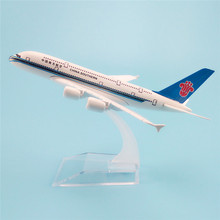 16cm Alloy Metal Air China Southern Airlines Plane Model Airbus 380 A380 Airways Airplane Model Aircraft Mode