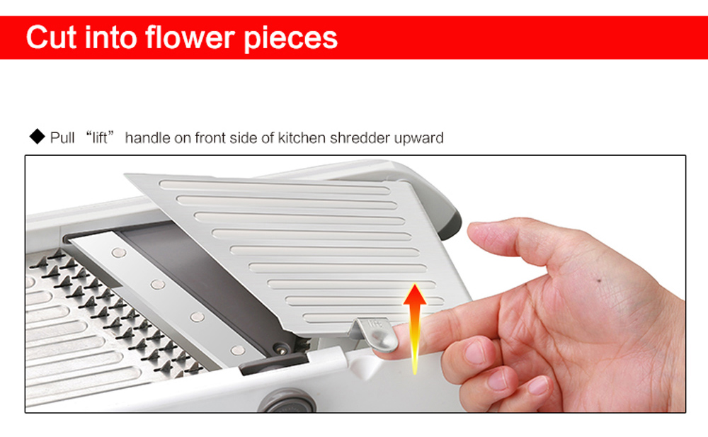 Multifunctional Manual Vegetable Cutter Mandolin Slicer Carrot Grater Kitchen Accessories