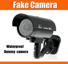 Fake camera Dummy Emulational camera Fake Surveillance Security Home Security Night CAM LED Light