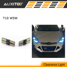 2X Car T10 W5W LED CANBUS NO ERROR Width Clearance Lamp light FOR ford focus 2 3 fiesta kuga mondeo mk4 mk2 ecosport ranger