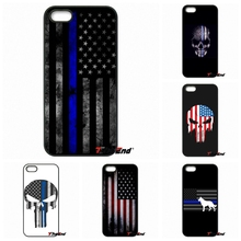 For Sony Xperia X XA XZ M2 M4 M5 C3 C4 C5 T3 E4 E5 Z Z1 Z2 Z3 Z5 Compact Thin Blue Line American US Flag Mobile Phone Cover