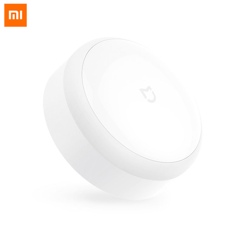 Original Xiaomi Mi Home LED Motion Sensor Night Light Low Power Corridor Night Light Infrared Remote Control Baby Old