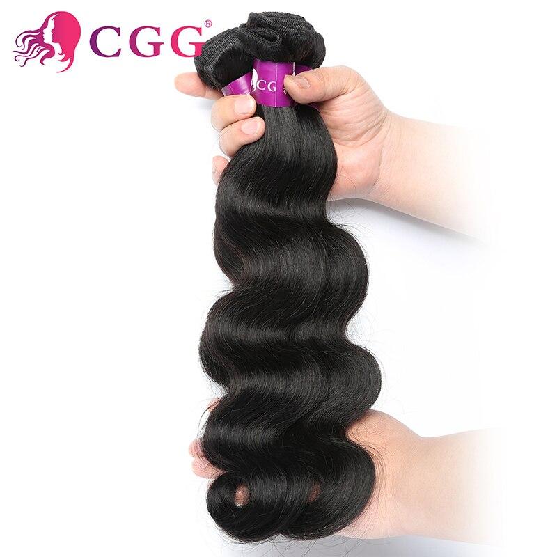 CGG Hair Products 1Bundle Indian Virgin Hair Body Wave Unprocessed Indian Body Wave Hair 7A Best Virgin Human Hair Weave Bundles<br><br>Aliexpress