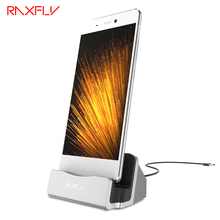 RAXFLY Android Type C Charge Phone Holder For Samsung Huawei Mate Xiaomi Oneplus Blackview HTC LG Sync Cable Dock Accessories