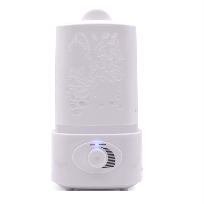 1.5L Humidifier Carve Ultrasonic Air Essential Oil Diffuser Aroma Mist Maker for Home Spa Large Capacity Double Mist Nozzle  (2)