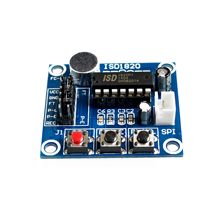 ISD1820 recording module voice module the voice board telediphone module board with Microphones(China)
