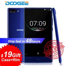 "Doogee Mix mobile phone 4G LTE 5.5"" HD bezel-less Helio P25 Octa Core 6GB+64GB Android 7.0 Dual Rear camera 16MP Smartphone(China)"