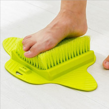 Easy Feet Scrubber Brush Massager Clean Bathroom Foot Brush Foot Care Tool()