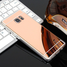 Buy Luxury Plating Mirror Case Samsung Galaxy S7 Case Silicon S6 Edge S5 S8 Plus Soft Case Samsung J5 2016 Cover J3 J7 Coque for $1.15 in AliExpress store