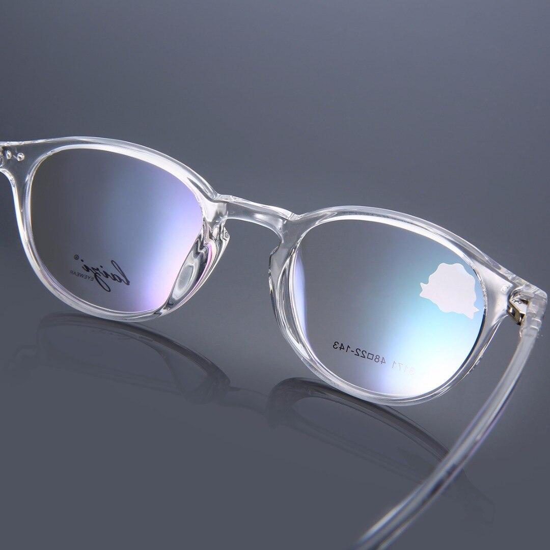 Mayitr 1pc Retro Unisex Optical Eyeglass Frame High Quality TR90 Clear Transparent Full Rim Eyeglasses Frames
